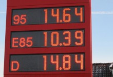 Price of the fuels
