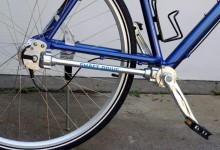 Drive shafts in bicycles