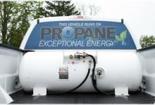 Propane gas fuel