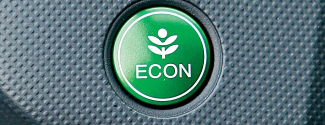 Fuel sipping engines and Econ button