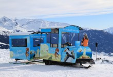 Skiing train?