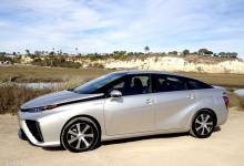 Toyota Mirai hydrogen FCV
