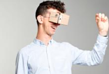Självkonstruerande VR – glasögon