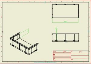 Drawing balkong