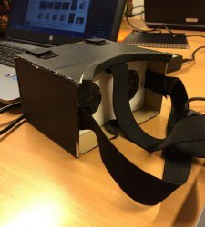 VR-glasögon- nytt försök