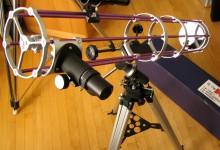 Egen designat teleskop