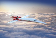 Överljudsflygplan ska göra flygresor snabbare