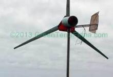 Hemmabyggt vindkrafterverk