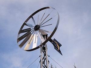 Hur fungerade de första vindkraftsverken?