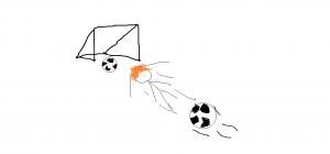 Theo fotboll porträtt 2