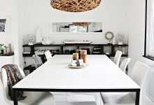 självtorkande bord