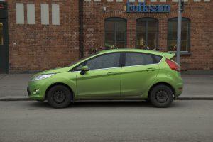 Grönare bil