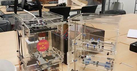 3D-skrivare, den fysiska konstruktionen