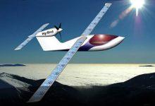 Solkraftssdrivet flygplan.