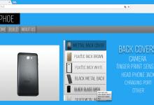 En websida där man kan bygga sin egen mobil
