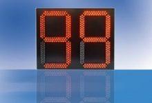 Trafikljus med nedräknare