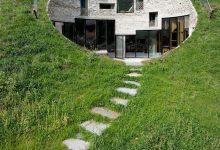 Hus under marken