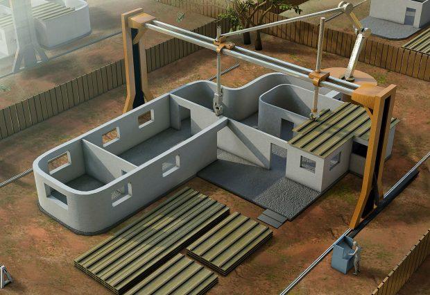 Riktiga hus med hjälp av 3D-Printer!