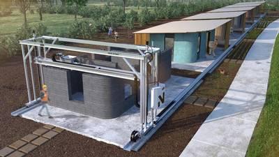3D byggda hus är framtiden