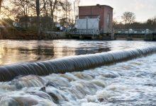 Vattenkraft, ett exempel på energi från lägesenergi