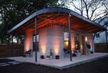 3D-printade hus