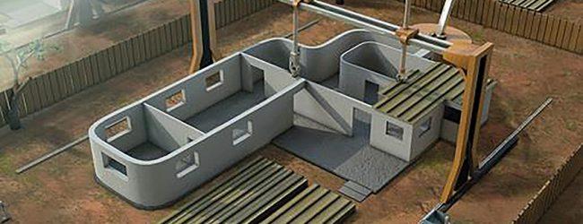 3d-skrivna hus