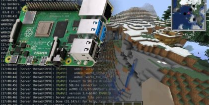 Minecraft-server med Raspberry Pi