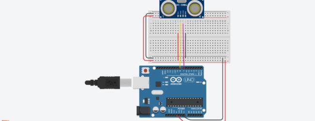 Arduino Circuit – Ultrasonic sensor