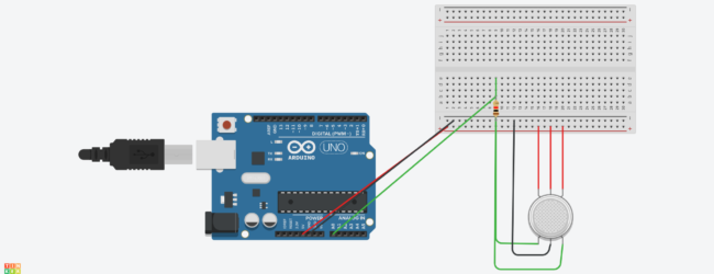 Arduino Circuits – Smoke detector
