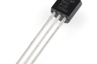 Temperature sensor-TMP36