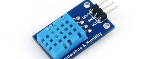 Temperatur och luftfuktighetssensor (DHT11) Teknikprojektet