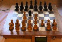 Electronic chess board