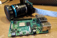 Kamera med Raspberry pi