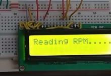 Digital varvräknare (IR sensor)
