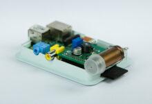 Raspberry Pi geigermätare