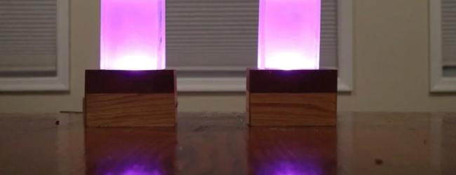 Lång distans bästa-vän lampa med Raspberry Pi
