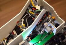 Rasberry Pi lego-sorterare